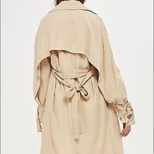 US 4 Topshop Duster Trench